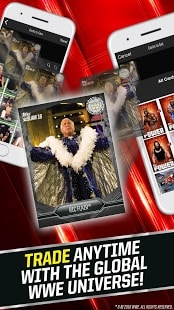 WWE SLAM: Card Trader