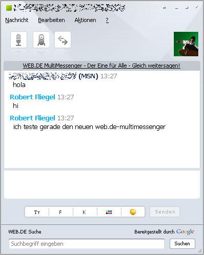 WEB.DE MultiMessenger