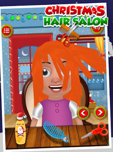 Christmas Kids Hair Salon