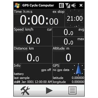 GPS Cycle Computer