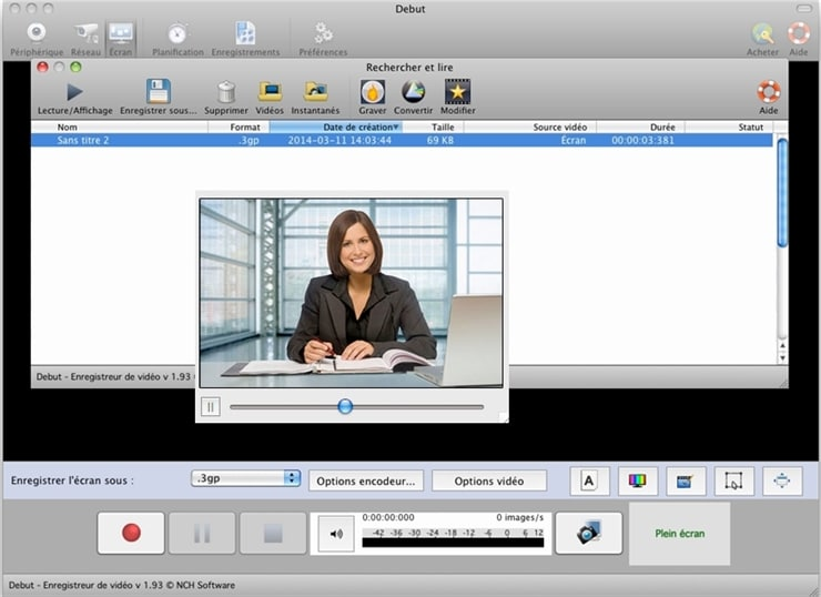 Debut Video Capture Software for Mac