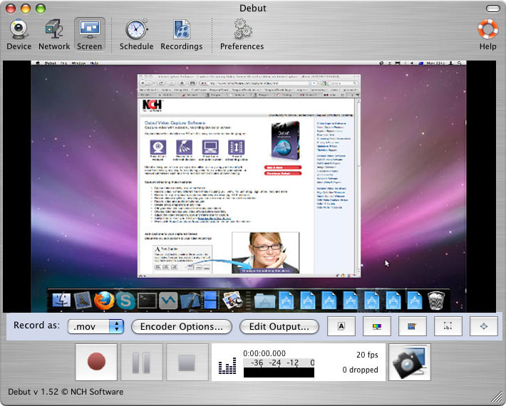 Debut video capture software for mac mac download debut free mac video recording software ccuart Choice Image