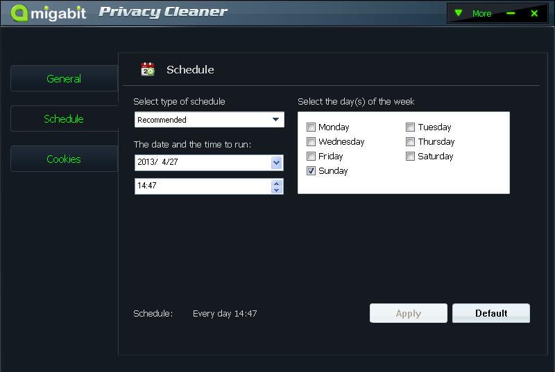 Amigabit Privacy Cleaner