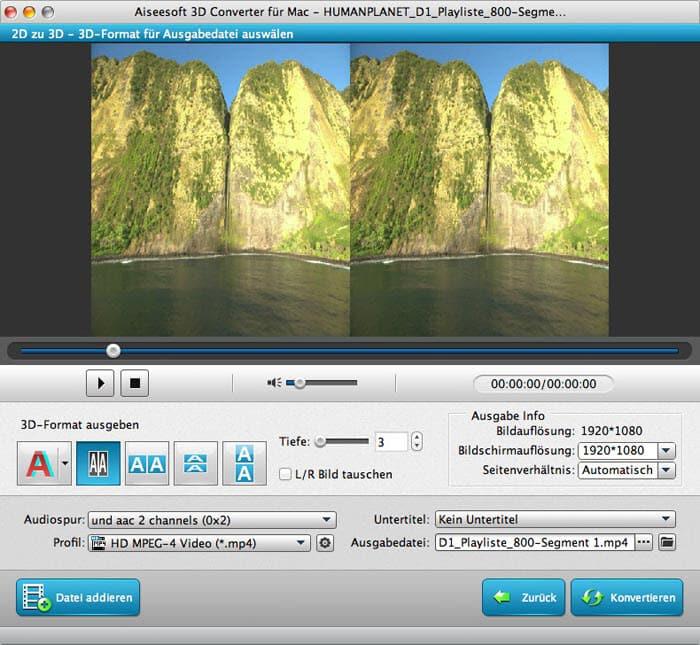 Aiseesoft 3D Converter für Mac