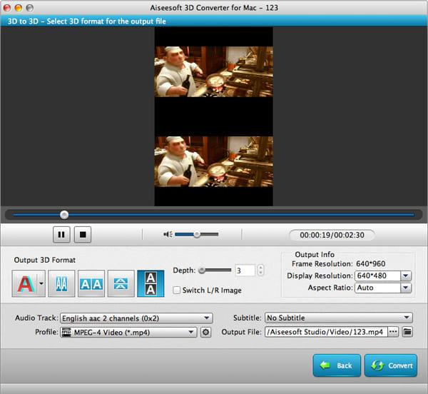 Aiseesoft 3D Converter for Mac