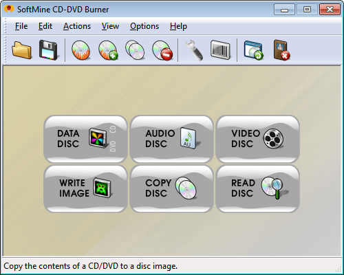 SoftMine CD-DVD Burner