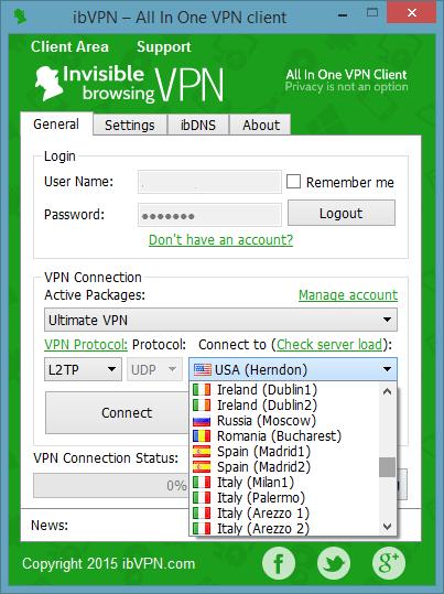 download client vpn pptp