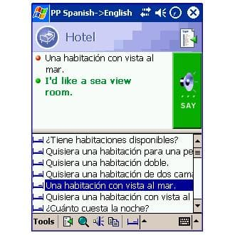 Lingvosoft PhraseBook English-Spanish