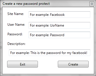 FXS Password Protect