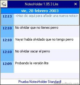 NotesHolder