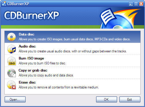 Top 5 Best Free Windows CD / DVD Burning Software