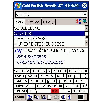 LingvoSoft Talking Dictionary 2006 Gold Englisch-Schwedisch