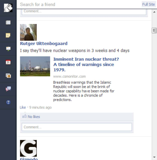 Facebook for Chrome