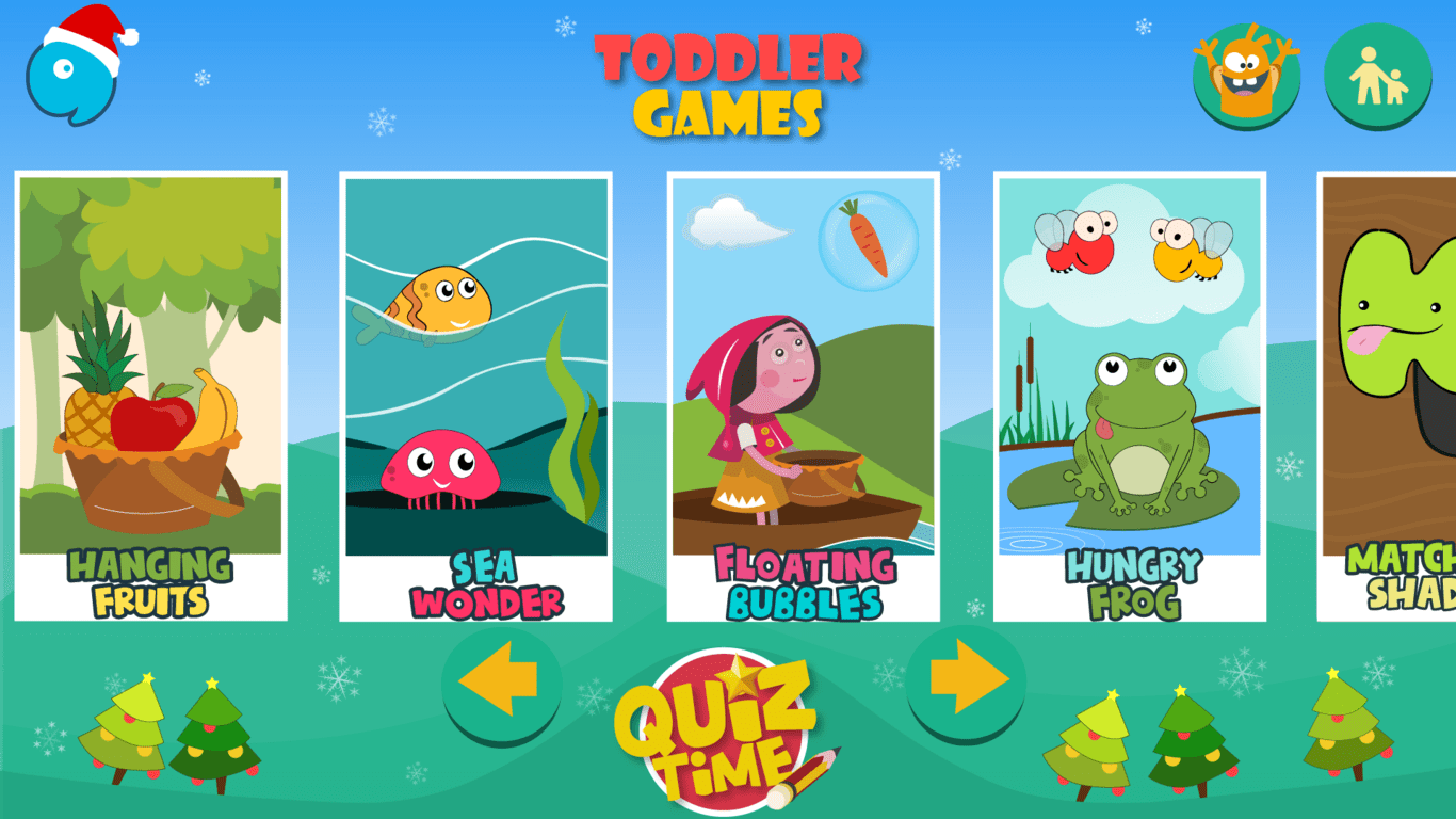 Kids Toddler Learning Games