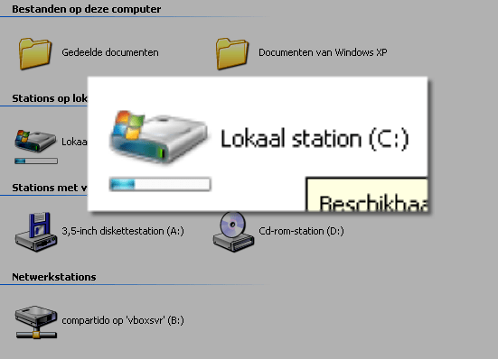 Vista Drive Icons