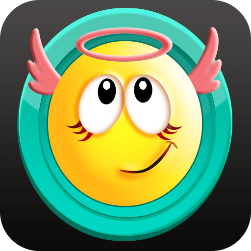Cute Smiley Gif Emoji Sticker 1.1
