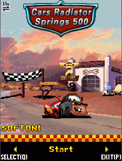 Cars Radiator Springs 500