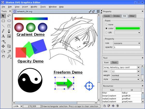 Sketsa Svg Editor Download