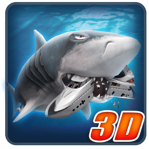 Ancient Shark Megalodon 3D