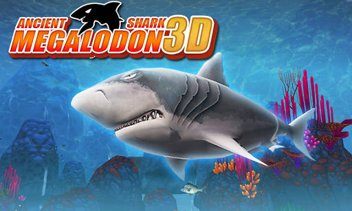 Ancient Shark Megalodon 3D