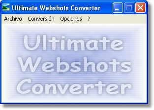 Ultimate Webshots Converter