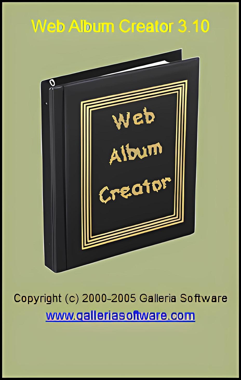 Web Album Creator