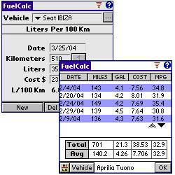 Browse to FuelCalc