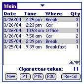 Cigarette Count