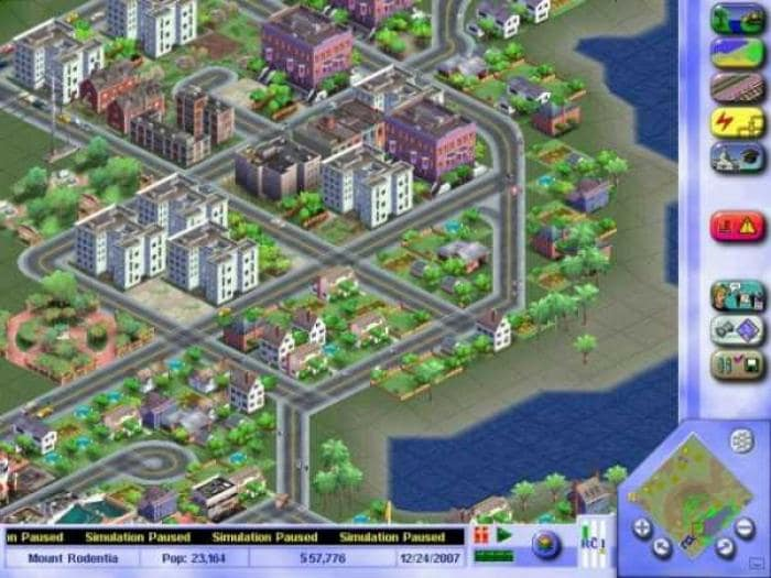 Sim City 3000 DEMO