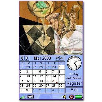 Image Calendar Cubism