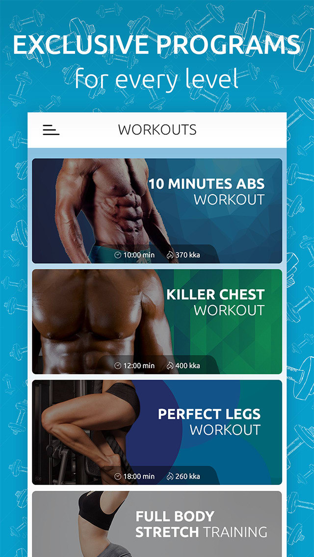 GymBreak - Video Workouts and Exercises