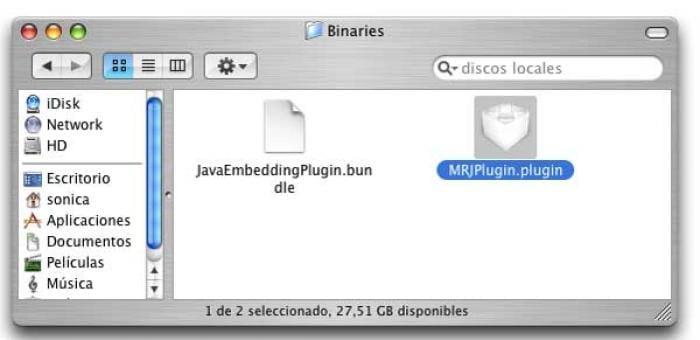 Java Embedding Plugin
