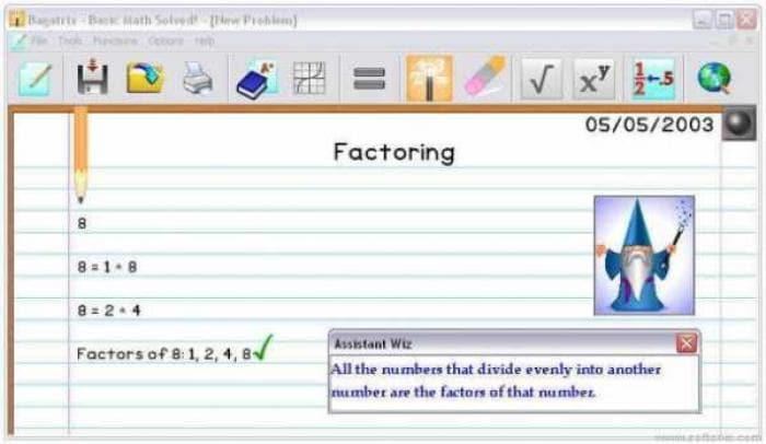 Basic Math Solved!