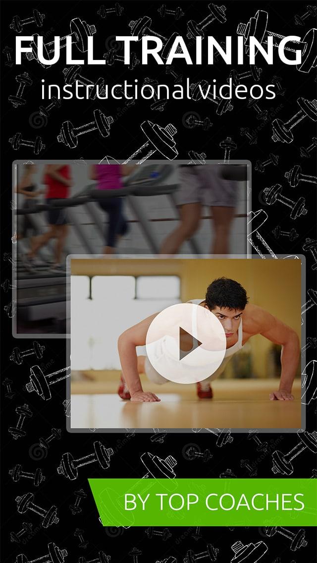 GymBreak-Video entrenamientos y ejercicios!