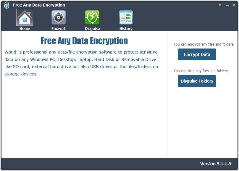 Free Any Data Encryption