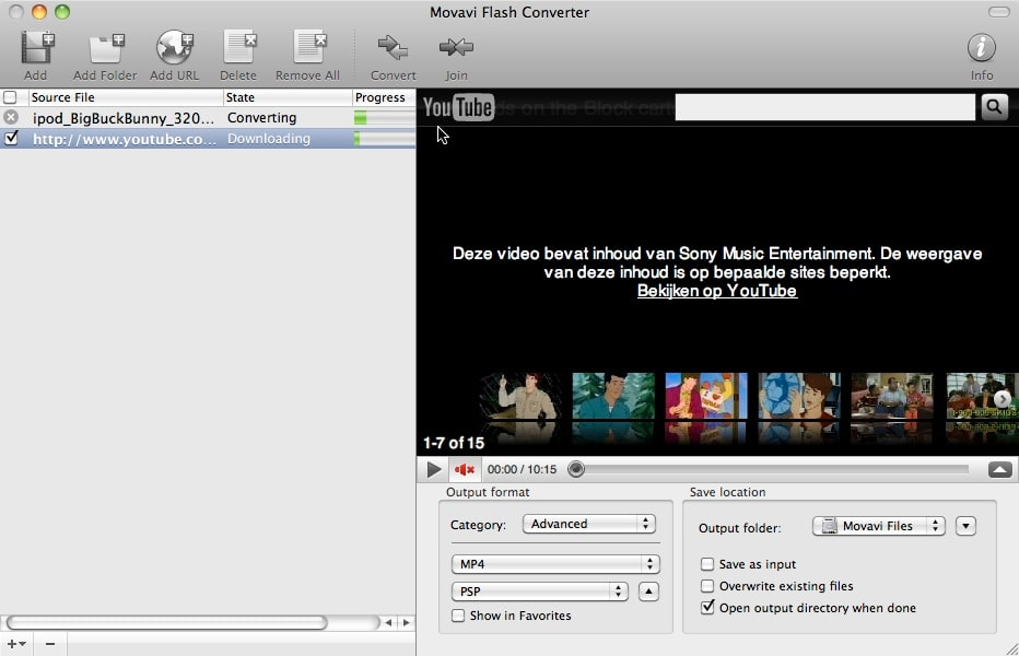 Movavi Flash Converter
