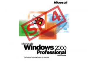 Windows 2000 Service Pack 4