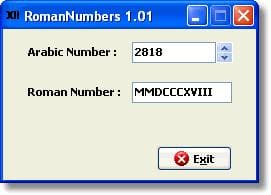 RomanNumbers