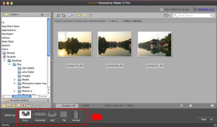Panorama Maker 5 Pro for Mac