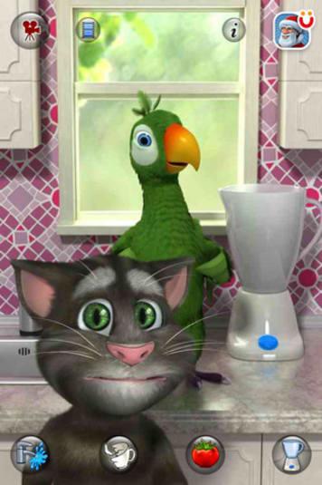 talking parrot blackberry