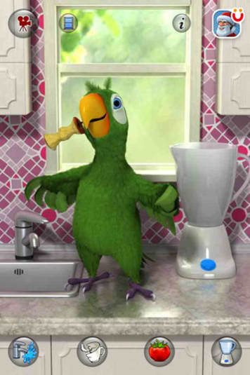 Talking pierre the parrot für android download