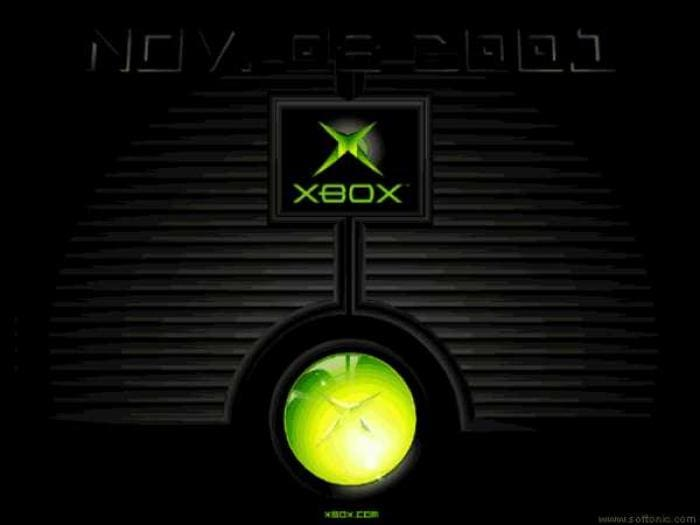 Xbox Jewel Launch Screensaver