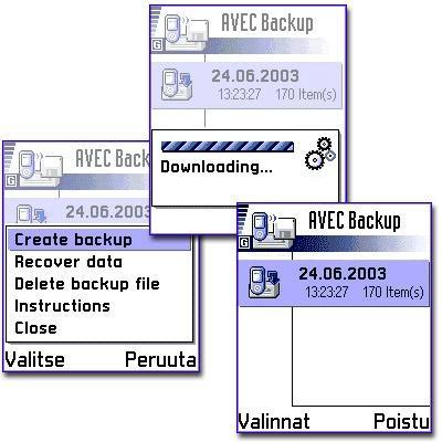AVEC Backup