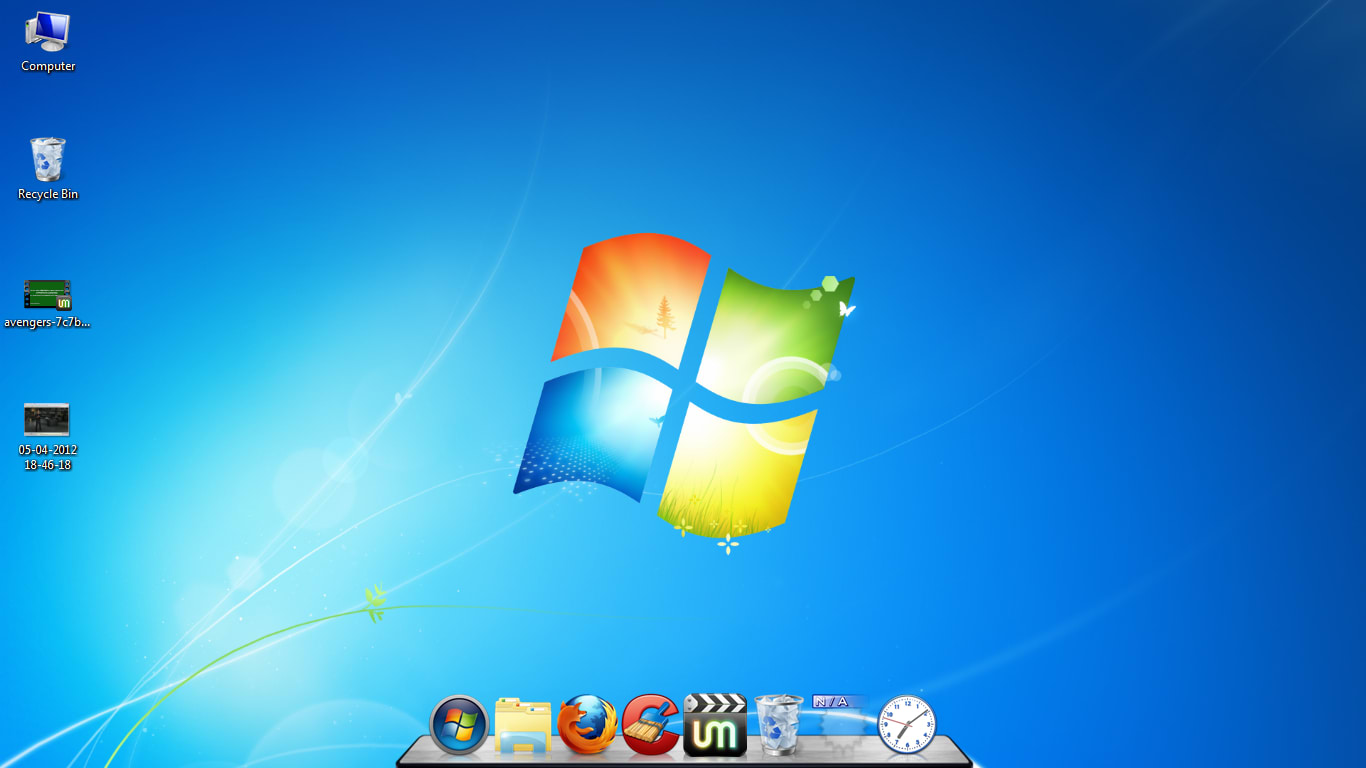 Windows Xp Classic Desktop