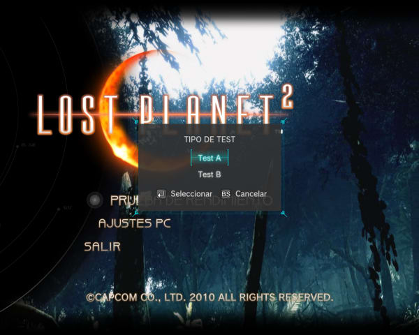 Lost Planet 2 PC Benchmark