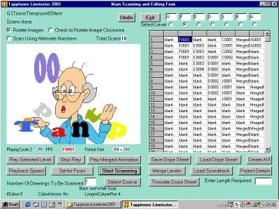 Tapptoons Linetester 2001