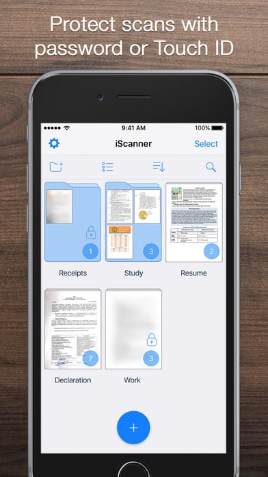 iScanner - PDF Document Scanner App