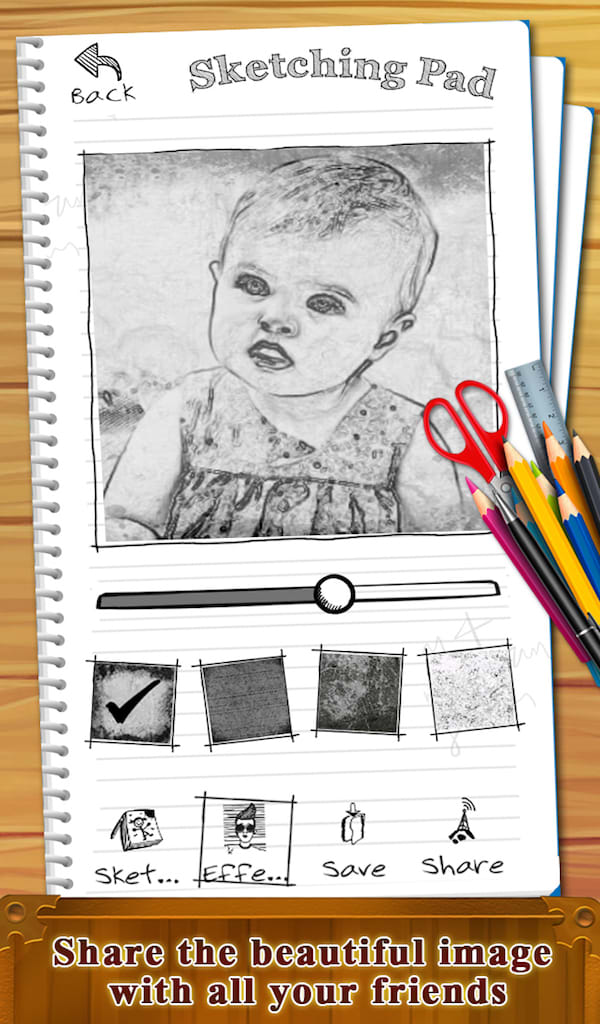 Photo Sketch Book