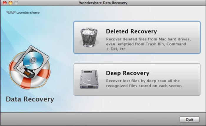 Wondershare Data Recovery