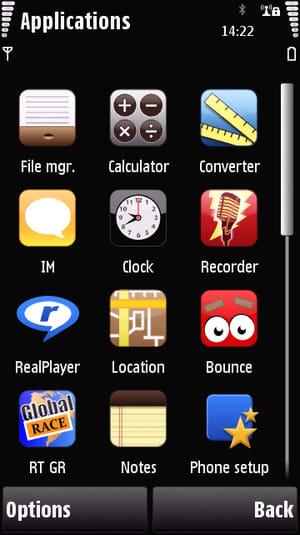 Thème iPhone
